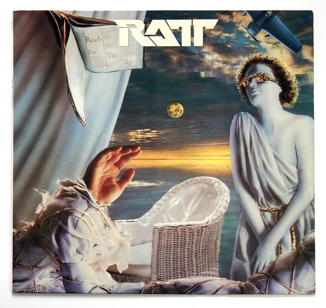 RATT Reach for the Sky LP