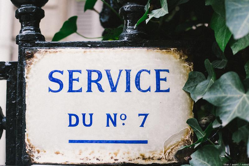Service du No. 7