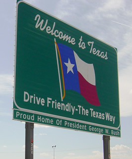 Welcome to Texas sign, I-10 | by Martin LaBar (going on hiatus)