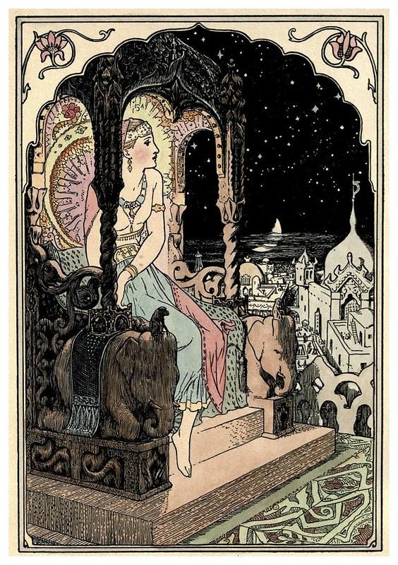 002-Princesa Labam-Cuentos de hadas indios-1892- John Batten