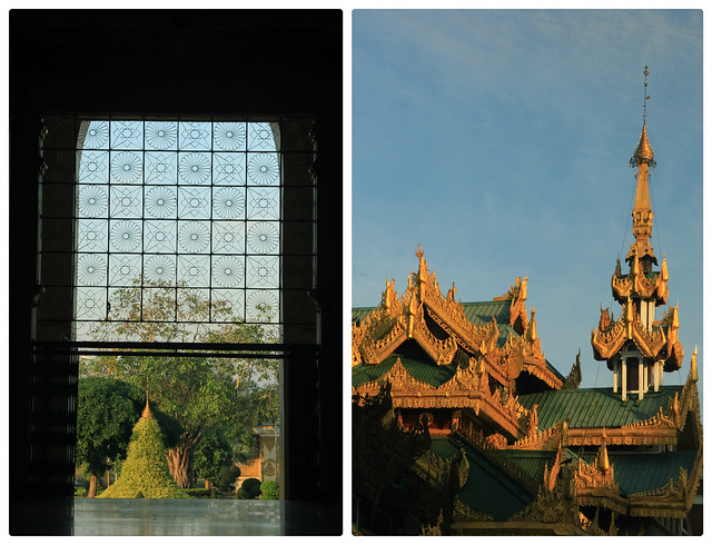 Detail, Shwedagon Pagoda