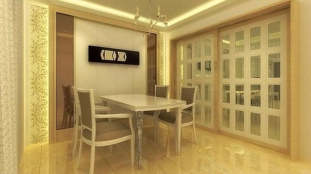 3D室內繪圖設計作品-十玉莊公館