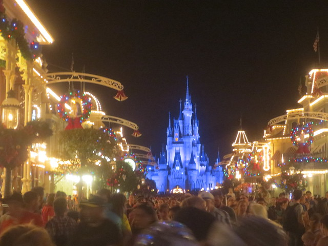 Main Street at closing time