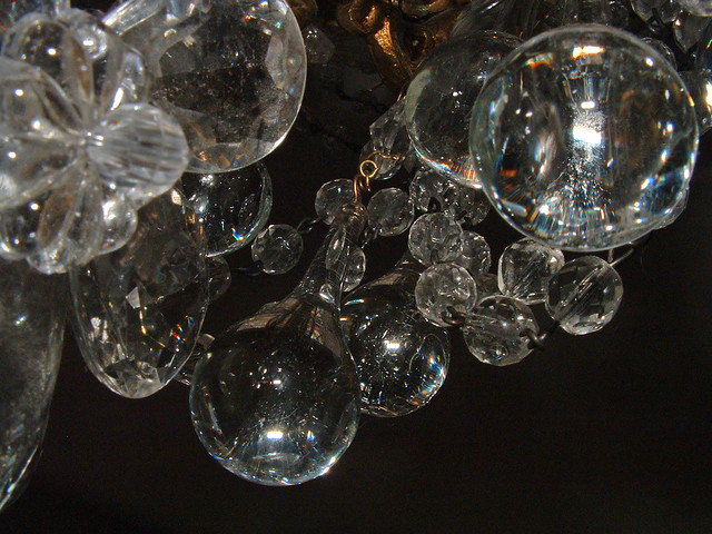 chandelier chrystals