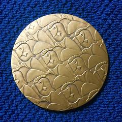1998 M.C. Escher Medal obverse