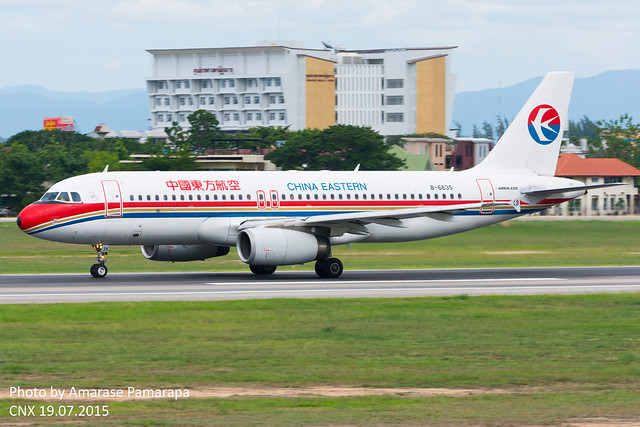 B-6635 // China Eastern Airlines Boeing 737-85P