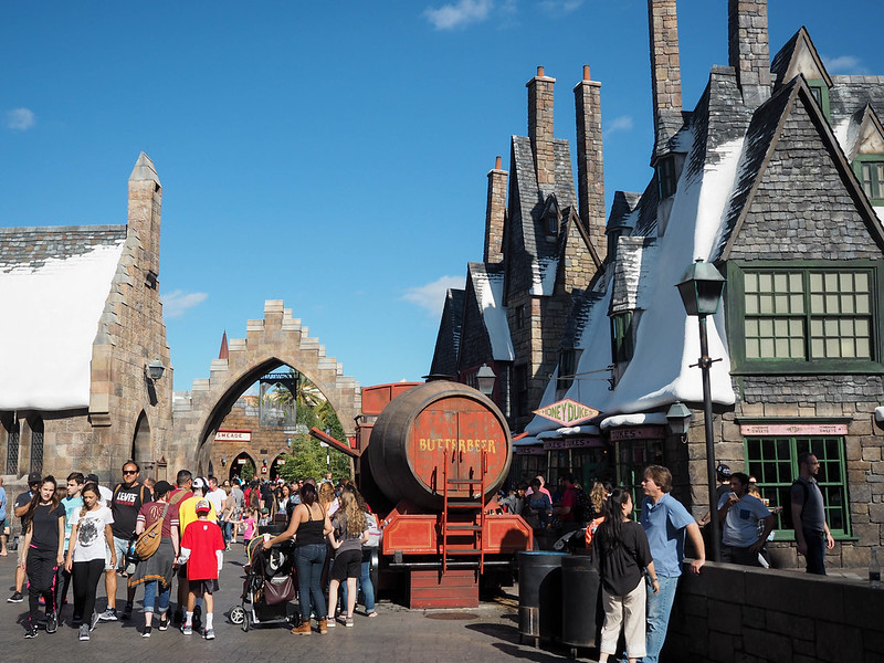 Hogsmeade at the Wizarding World of Harry Potter at Universal Orlando