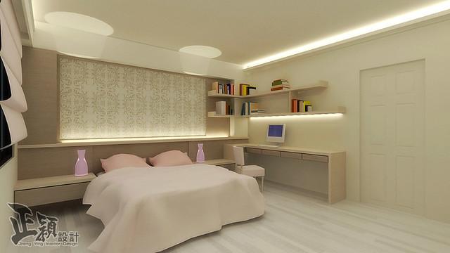 3D室內繪圖設計作品-開元路王公館