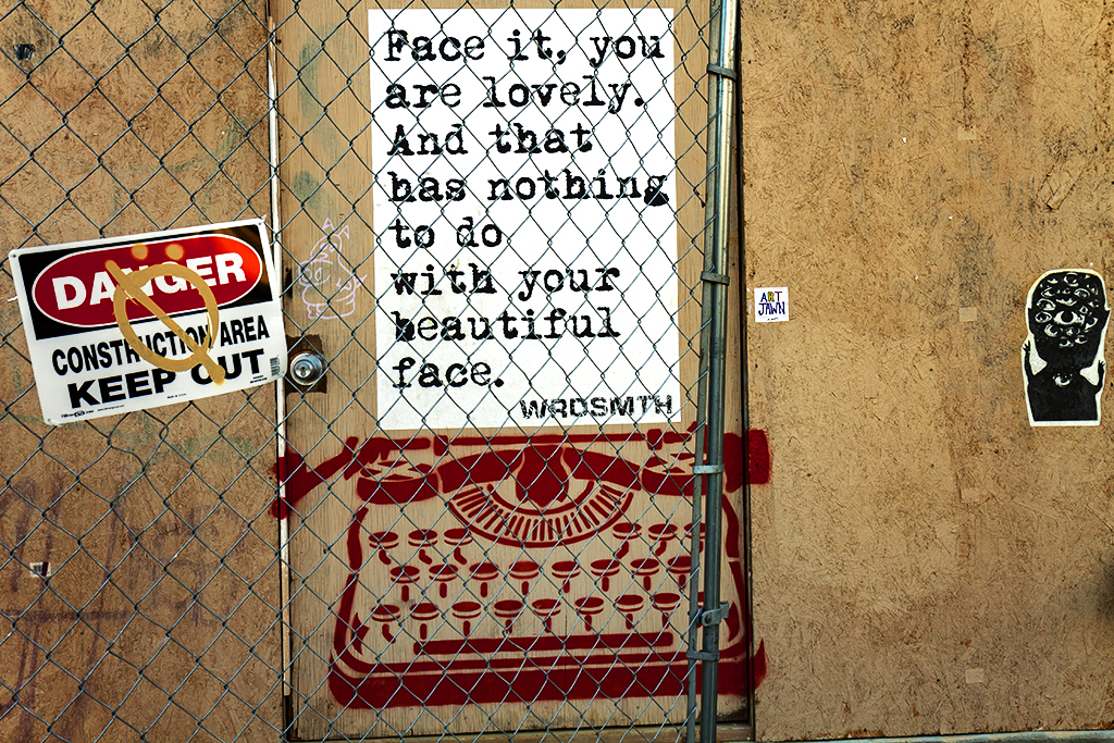 Face it you are lovely--Bella Vista