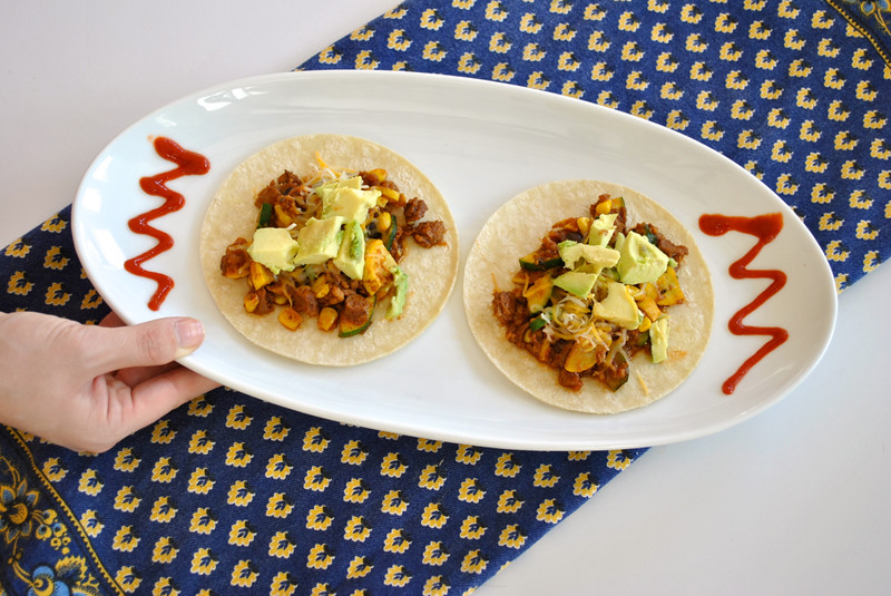 Head to Toe Chic-@akeeleywhite-Vegetarian Taco Recipe