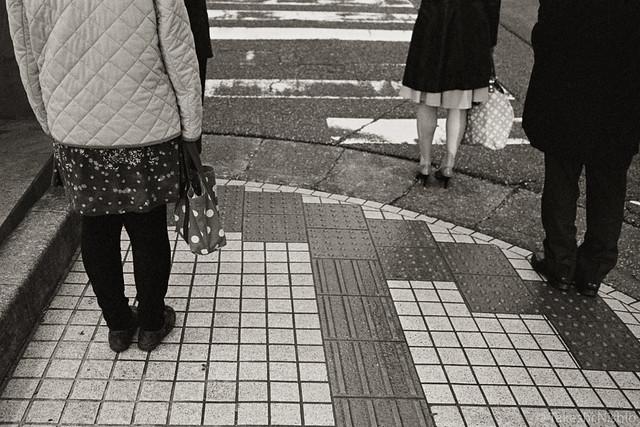 wait at traffic light