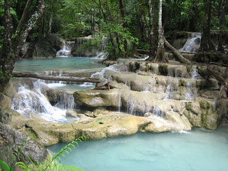 Erawan Waterfalls -- 7 Steps to Heaven | by Todd Huffman