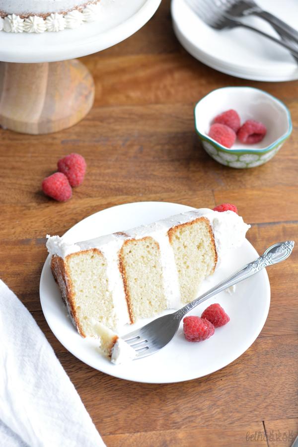 Vanilla Bean Cake - bethcakes.com