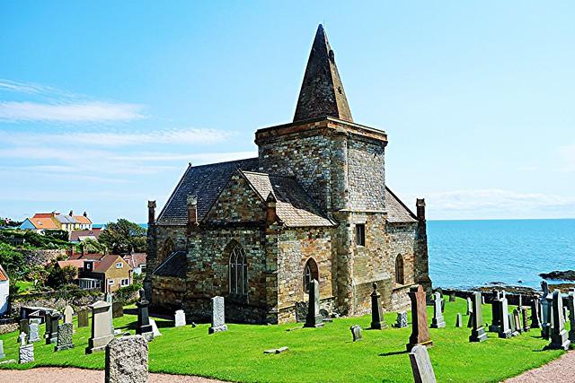 St Monans Parish Church, Fife, Scotland.