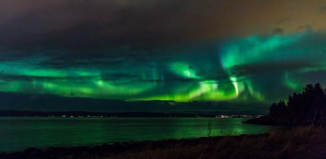 Kp7 Aurora Borealis