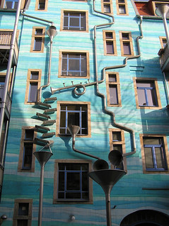 Arty house wall in Dresden | by Rol247*
