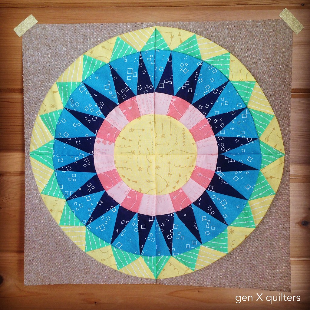 Hoop Quilt #1 Finished Block_Fotor