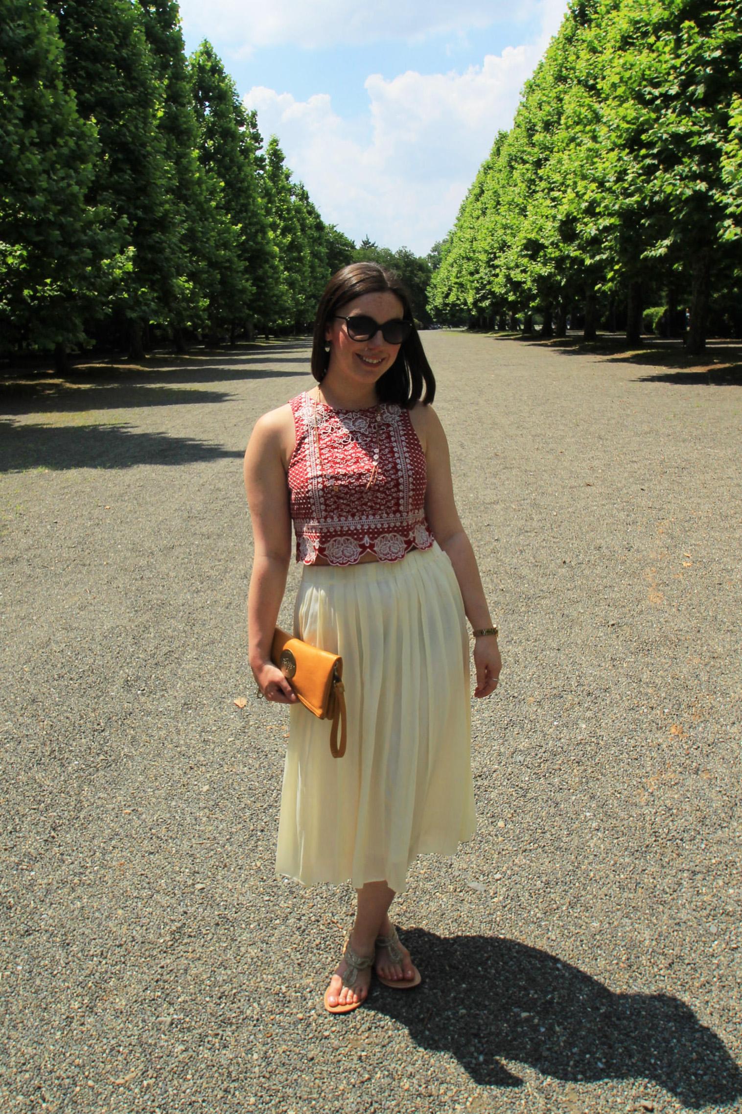 Fashion outfits blogger Edinburgh Scotland UK The Little Things