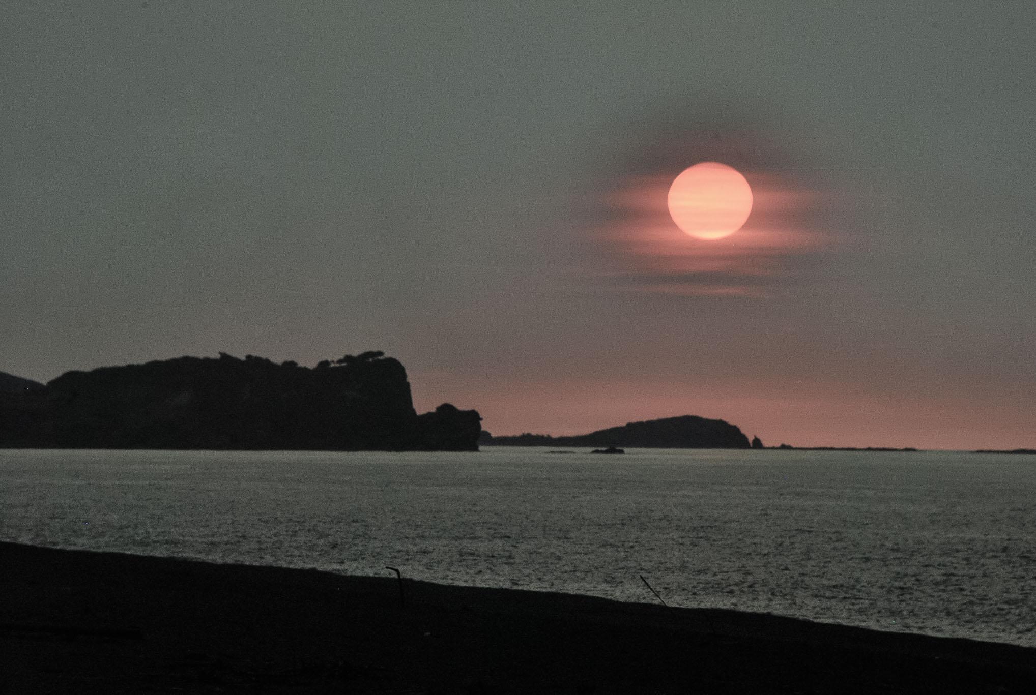 ilocos norte sunset