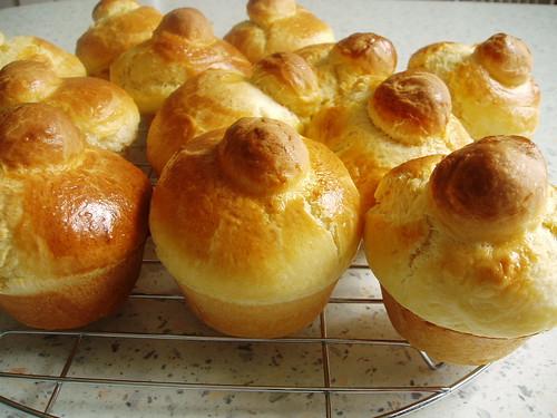 Brioches aus der Muffinform