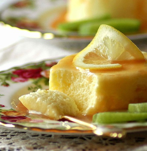 Lemon Souffle with Caramel Sauce | by Vita Arina