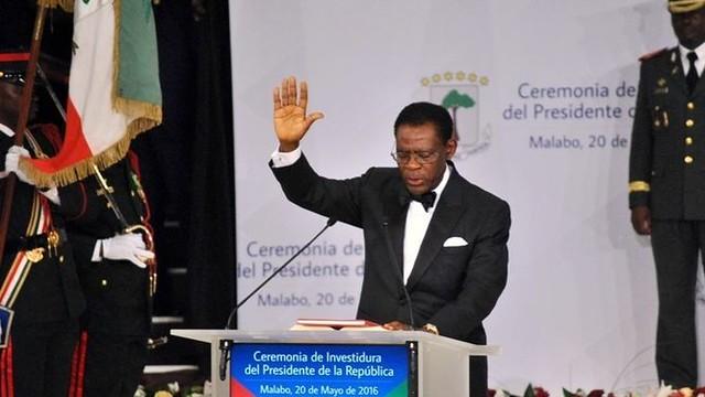 Investiture du président Obiang Nguema en Guinée équatoriale