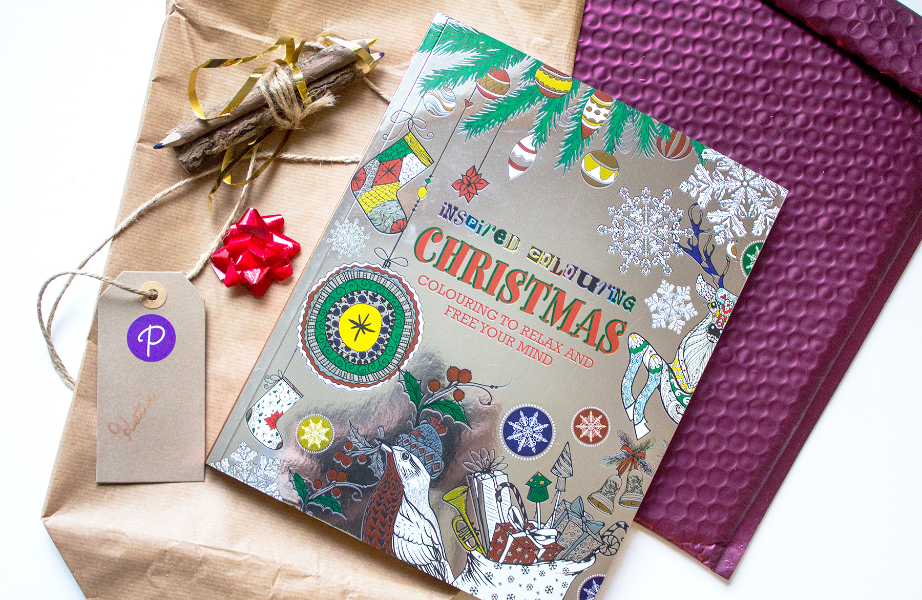 Inspired Colouring Christmas* // #18 of Blogmas '16