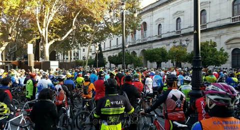 Manifestación-Ciclistas