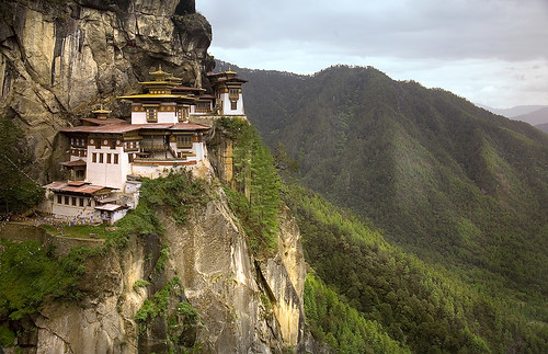 thaktsang monastery from 2nd viewpoint | by AsianInsights