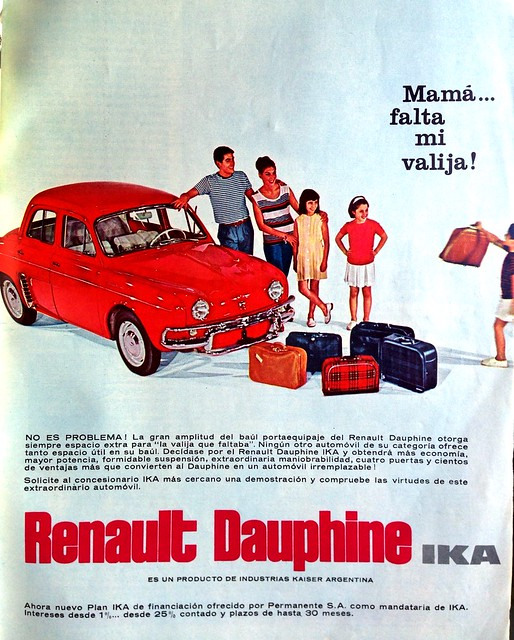 Mecánica Popular 1963 - IKA Renault Dauphine