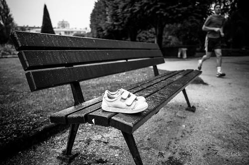 les chaussures oubliées