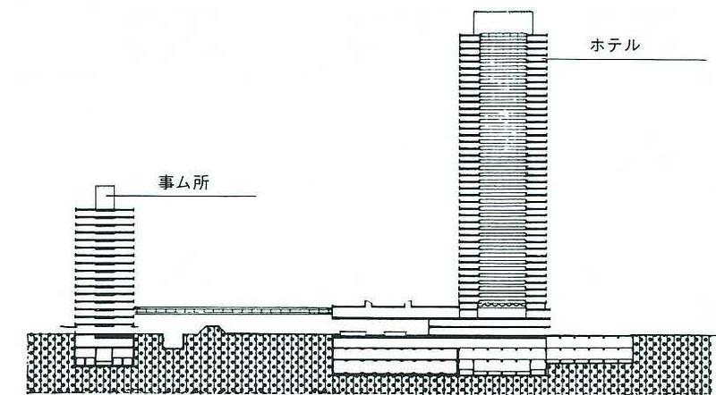 大新宿構想時代の上越新幹線新宿駅地下ホーム (2)