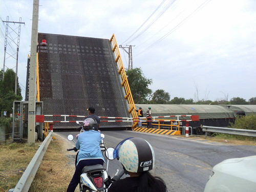 Cha-am Drawbridge (Thailand)