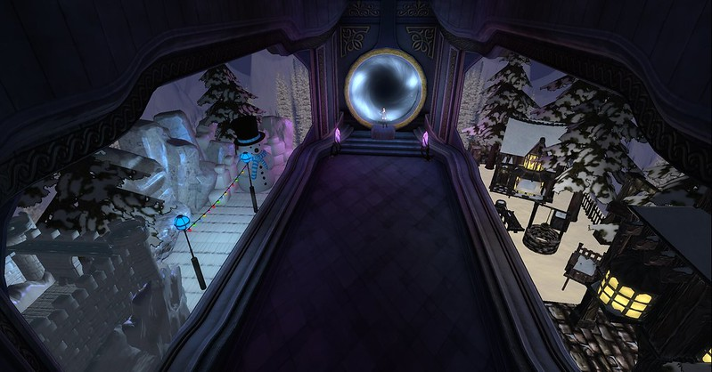 Linden Lab's Portal Park and Winter Wonderland 2016=Portal Park entry to WW