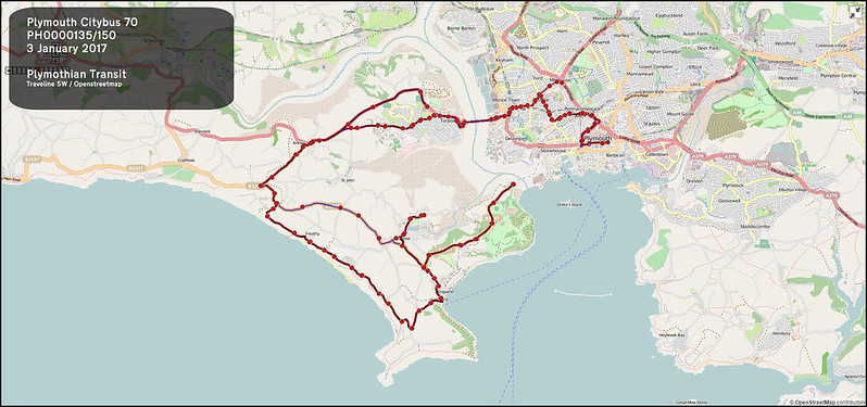 2017 01 03 Plymouth Citybus Route-070 MAP.jpg