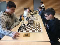 Jeu d'échecs, championnat scolaire de Saône et Loire