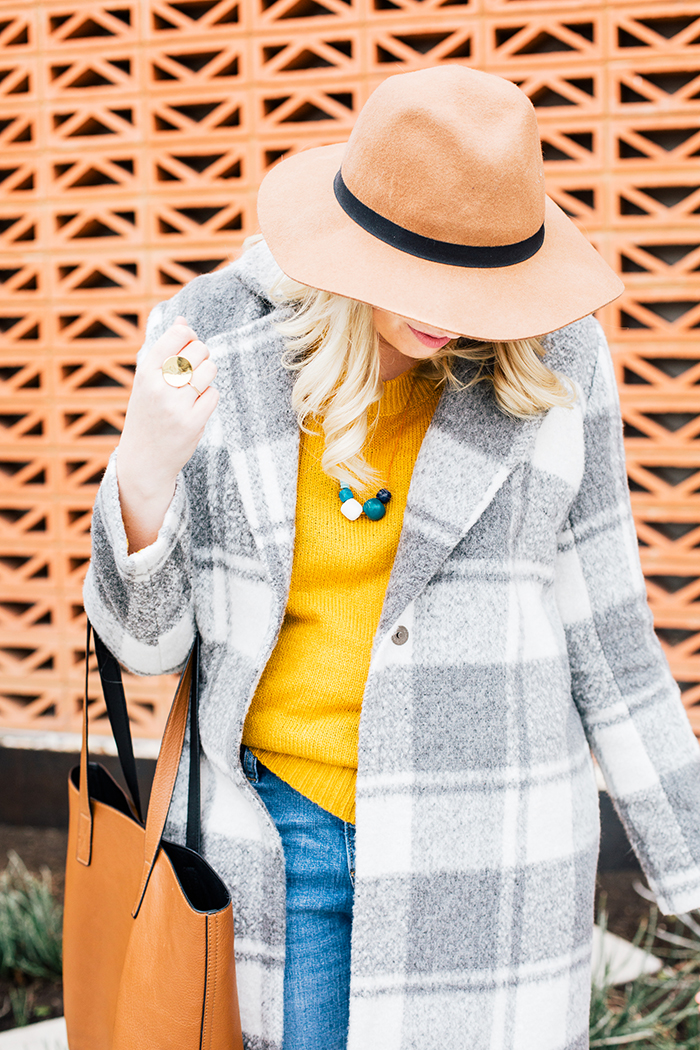 austin style blogger grey coat mustard sweater12