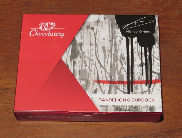 London Kit Kat Chocolatory - Dandelion & Burdock