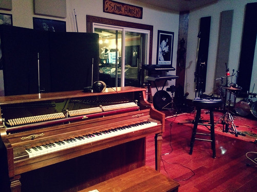Recording Piano Tracks at Soul Haven (Dec 14 2015)