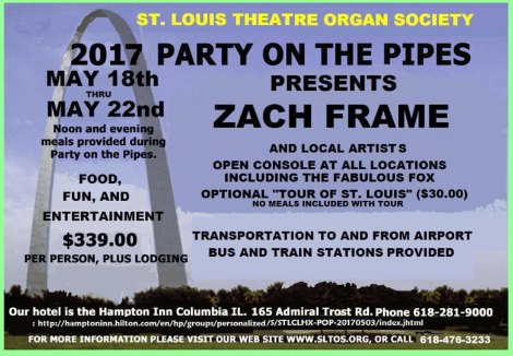 Party On The Pipes 5-18 thru 5-22-16
