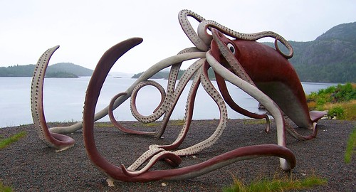Giant Squid, Glover's Harbour | by Product of Newfoundland