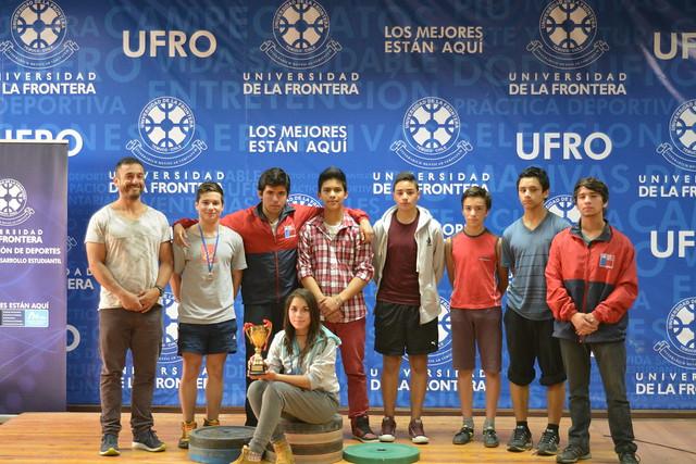 3er. Lugar Copa UFRO