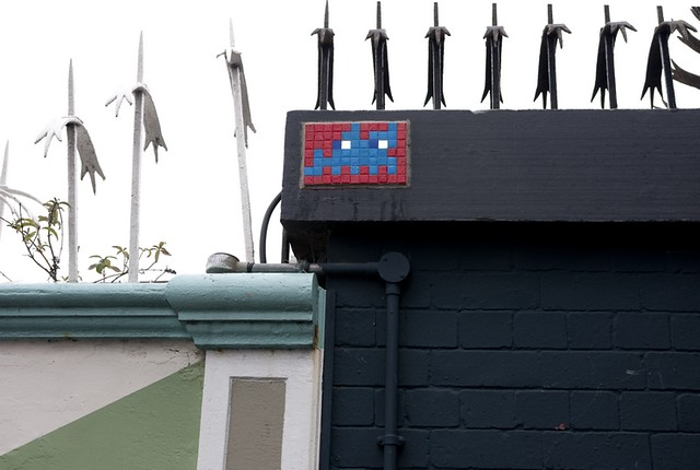 Reactivated Space Invader LDN_021