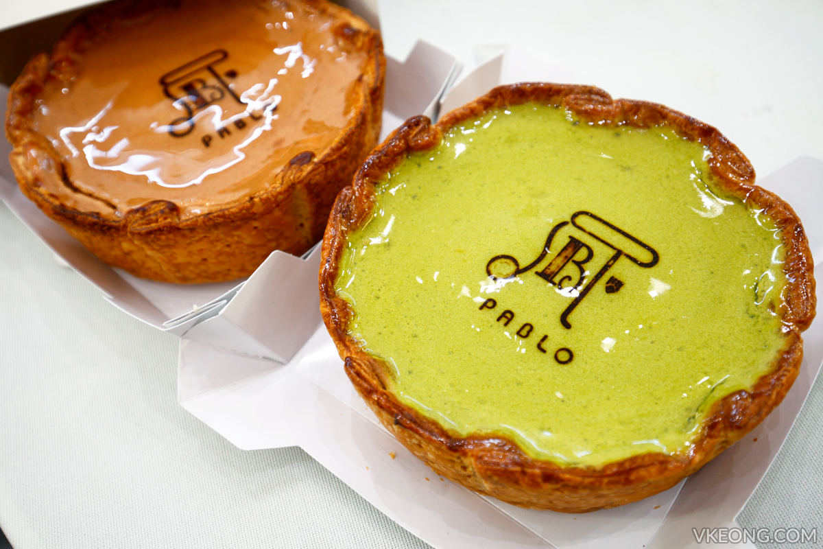 Pablo Chocolate Matcha Cheese Tarts