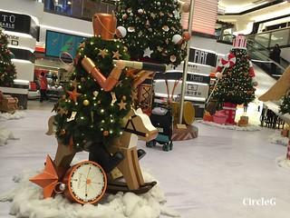 CIRCLEG 香港 尖沙咀 美麗華商場 TSIMSHATSUI  MIRA MALL 2016聖誕 遊記 聖誕 2016  (8)