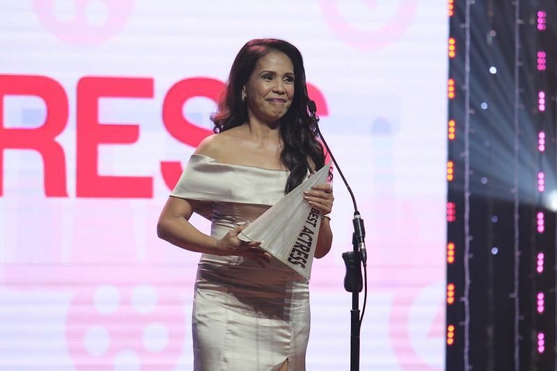 2016 MMFF Best Actress Irma Adlawan for Oro