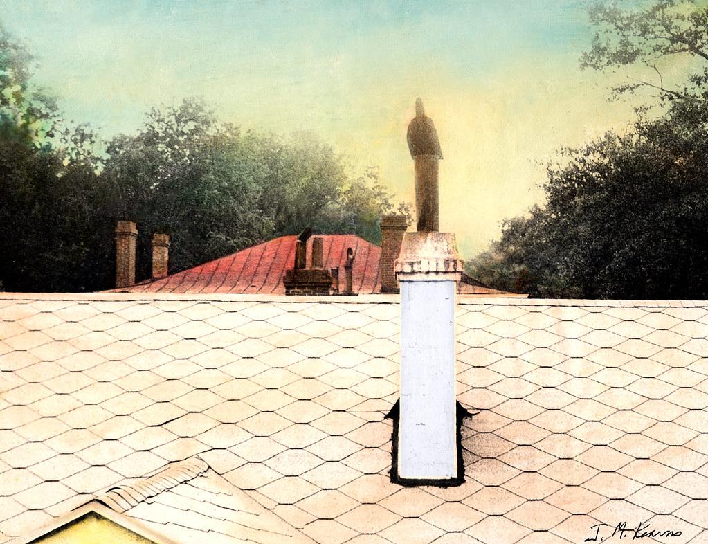 Rooftops, Broad St., Augusta, GA 1970s