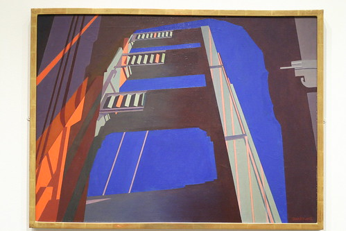 Golden Gate By Charles Sheeler He Took A Bunch Of