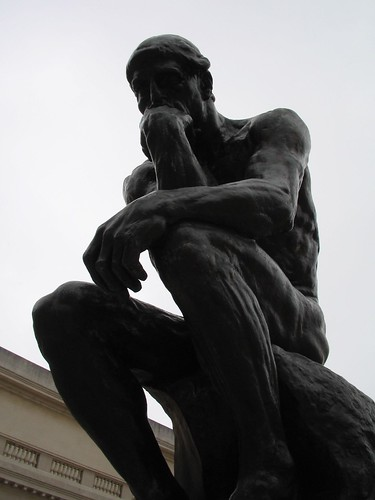 """The Thinker"" by Rodin 