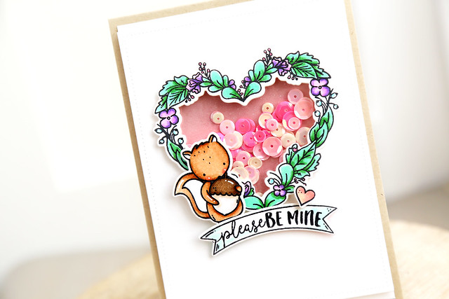 Floral heart shaker (Neat and Tangled release week)